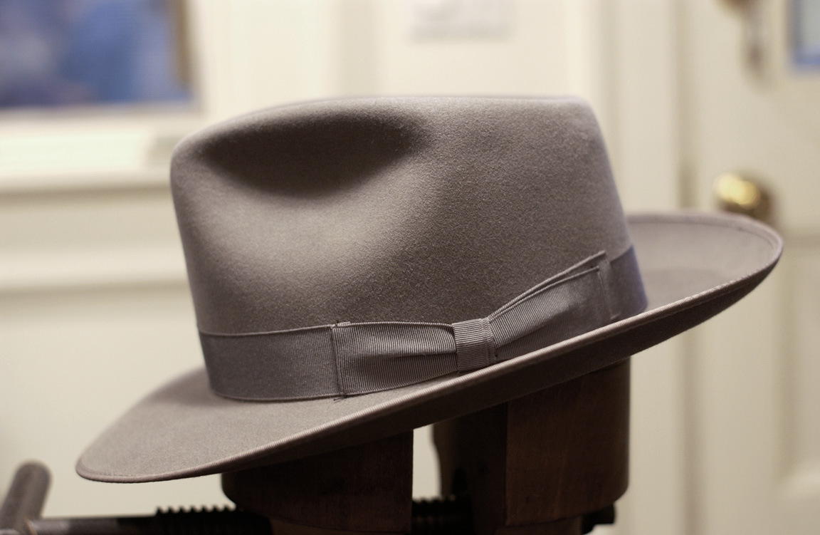 SOLD  Beautiful 1940s Barrister Fedora  3245f25d2f2