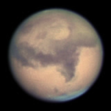 mars at opposition 2005